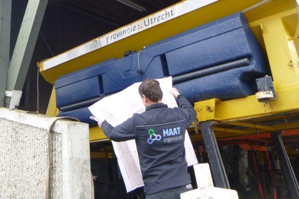 Beheer en onderhoud inspectie door MAAT ingenieurs